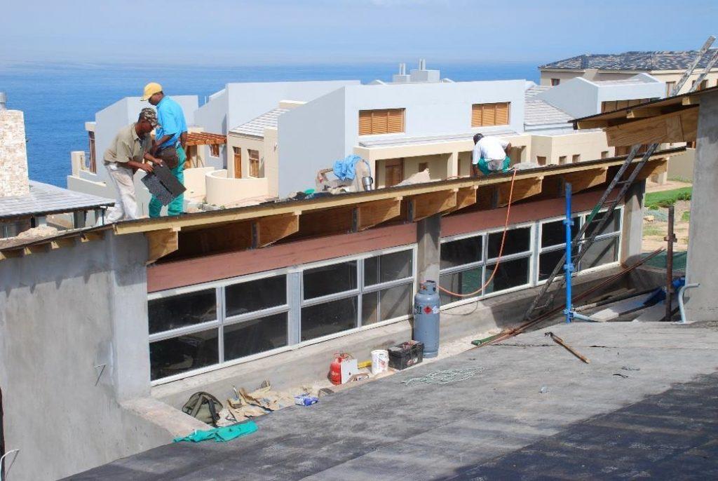 Passive Solar Roof Structure