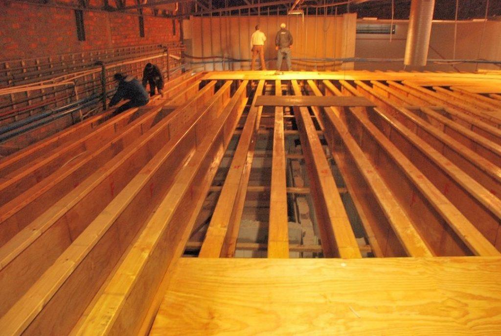 heavy Duty Floor Structure